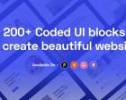 Ready UI - 200+ Bootstrap UI Blocks to Create Beautiful Websites