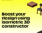 Isometrica - 3D Illustration Constructor with 380+ Isometric Objects