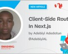 Client-Side Routing in Next.js