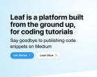 Leaf - Author Interactive Coding Tutorials