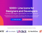 Lineicons 3.0 - 5000+ Line Icons for Designers and Developers