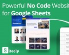 Siteoly - Build Websites from Google Sheets Without Writing Code
