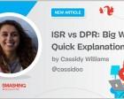 ISR Vs DPR: Big Words, Quick Explanation