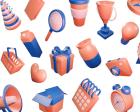 Khagwal 3D Illustration Library - Free 3D Illustration Library for Web & Mobile App Designers