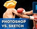 The Ultimate Photoshop VS. Sketch Comparison FIGHT!