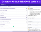 README Gen - Most Advanced ReadMe Generator for your GitHub Projects