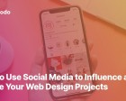 How to Use Social Media to Influence and Inspire your Web Design Projects