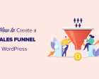 How to Make a High Converting Sales Funnel in WordPress
