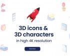 3D Icons 2.0 by Iconshock - 4000+ 3D Icons
