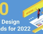10 Web Design Trends and Predictions for 2022 and Beyond [Infographic]