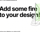 On Fire - Free Illustrations for Websites and Apps
