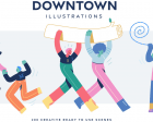 Downtown Illustrations - Creative Illustrations for your Next Project