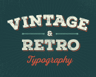 50 Beautiful Examples of Vintage and Retro Typography
