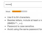 Password Strength `meter`