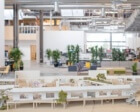 New Facebook HQ has Rollerblading, Golf Carts and 'Selfie Stumps'
