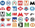 77 Ways to Design the Letter 'M' in your Metro Logo