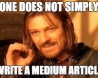 How to Sound Smart on Medium