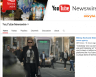 YouTube Launches YouTube Newswire: A Channel Featuring Verified Eyewitness Videos