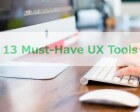13 Must-Have UX Tools
