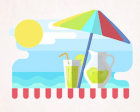 Freebie: Months and Seasons Set (12 Vector Illustrations, PNG, SVG, EPS, AI)