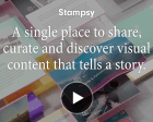 Stampsy: A Single Place to Share, Curate and Discover Visual Content