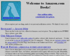 This is What Amazon Looked like When it Launched 21 Years Ago this Month