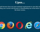 Only Allow Supported Web Browsers Using JavaScript